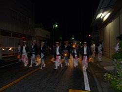 2011年 山あげ祭 奉告祭(通称:ブッツケ)