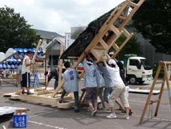 2011年 山あげ祭 山あげリハーサル