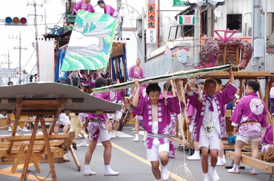 2016年 山あげ祭 金井町