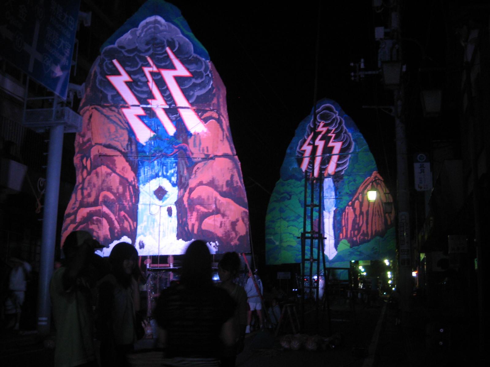 山あげ祭 関の扉
